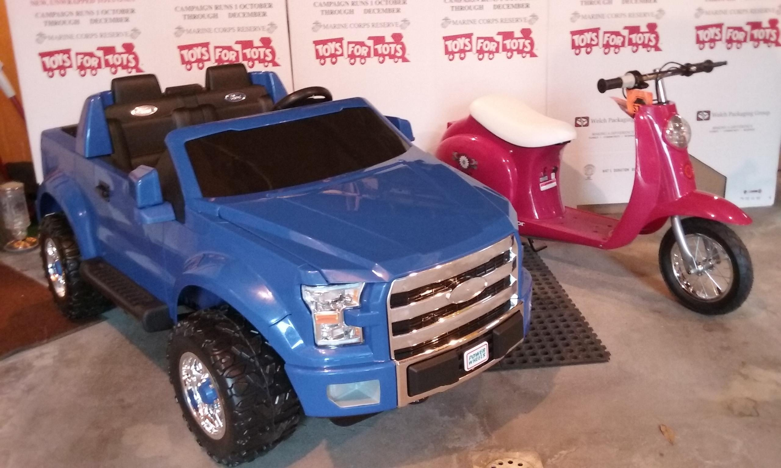 Toys For Tots Auction