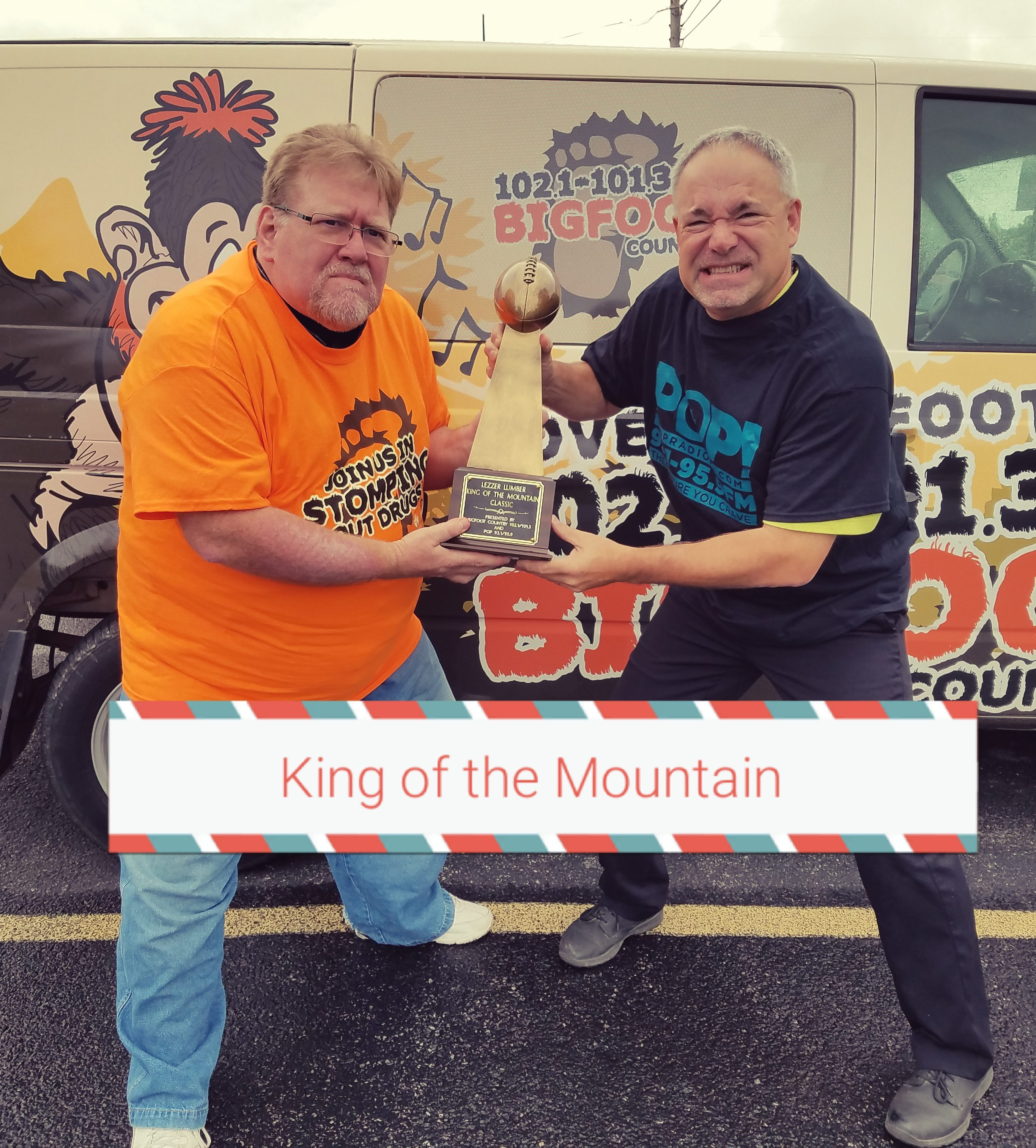 WHO WILL BE KING OF THE MOUNTAIN??