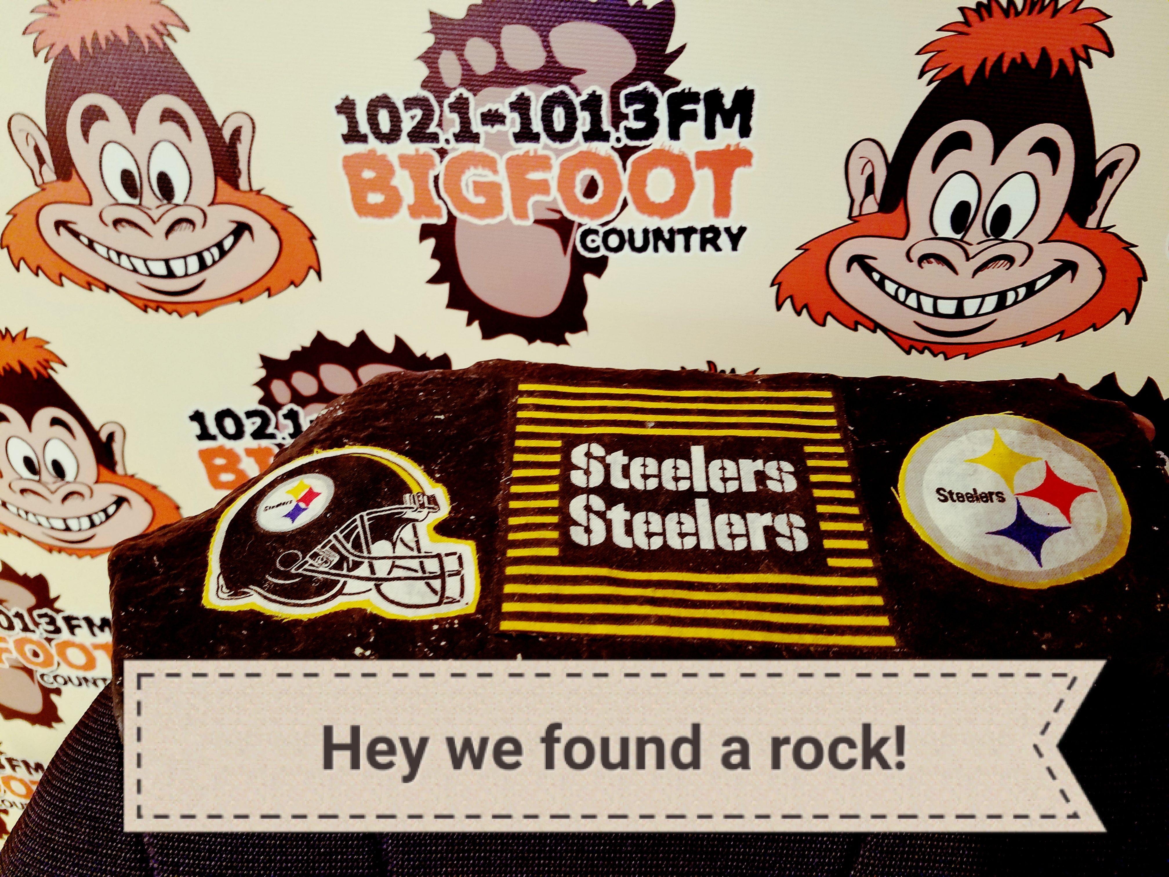 We're rocking out a Bigfoot Country!!