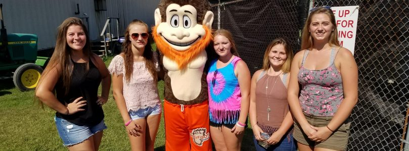 Havin' fun at the Clearfield County Fair with Bigfoot fans!