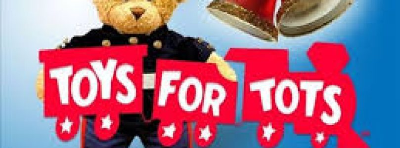 TOYS-FOR-TOTS WRAP UP DAY