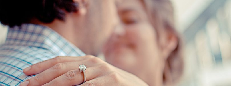 Guy drops $4000 engagement ring from bridge during proposal [link to watch]