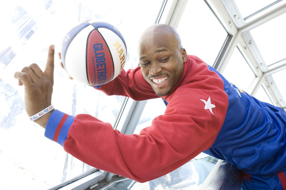 You Won't Believe This Shot By The Harlem Globetrotters