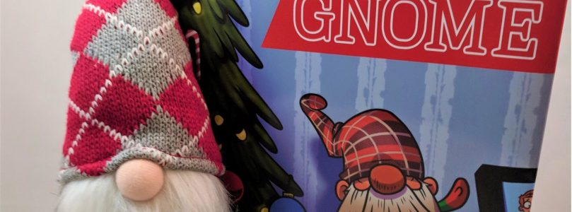 Sick of Elf on the Shelf? Meet Santa's Lazy Gnome.