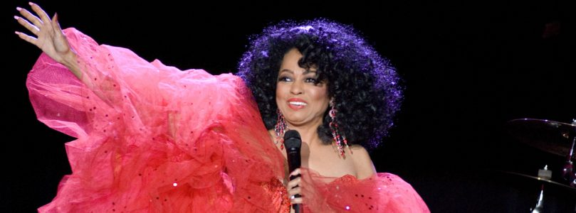 Diana Ross still landing number one's! Just not in traditional fashion