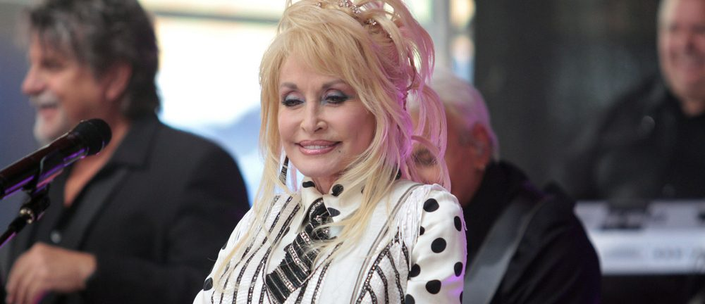Apparently, Dolly's husband isn't a huge fan of her work [watch]