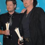 04/18/2010 - Blake Shelton and Trace Adkins - 45th Annual Academy of Country Music Awards - Press Room - MGM Grand Garden Arena - Las Vegas, NV, USA - Keywords: Blake Shelton and Trace Adkins, winners of Vocal Event of the Year - 0 -  - Photo Credit: Bob Charlotte  / PR Photos - Contact (1-866-551-7827)