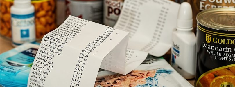 For just THREE items, a 5-foot 8-inch receipt might be a bit much…..