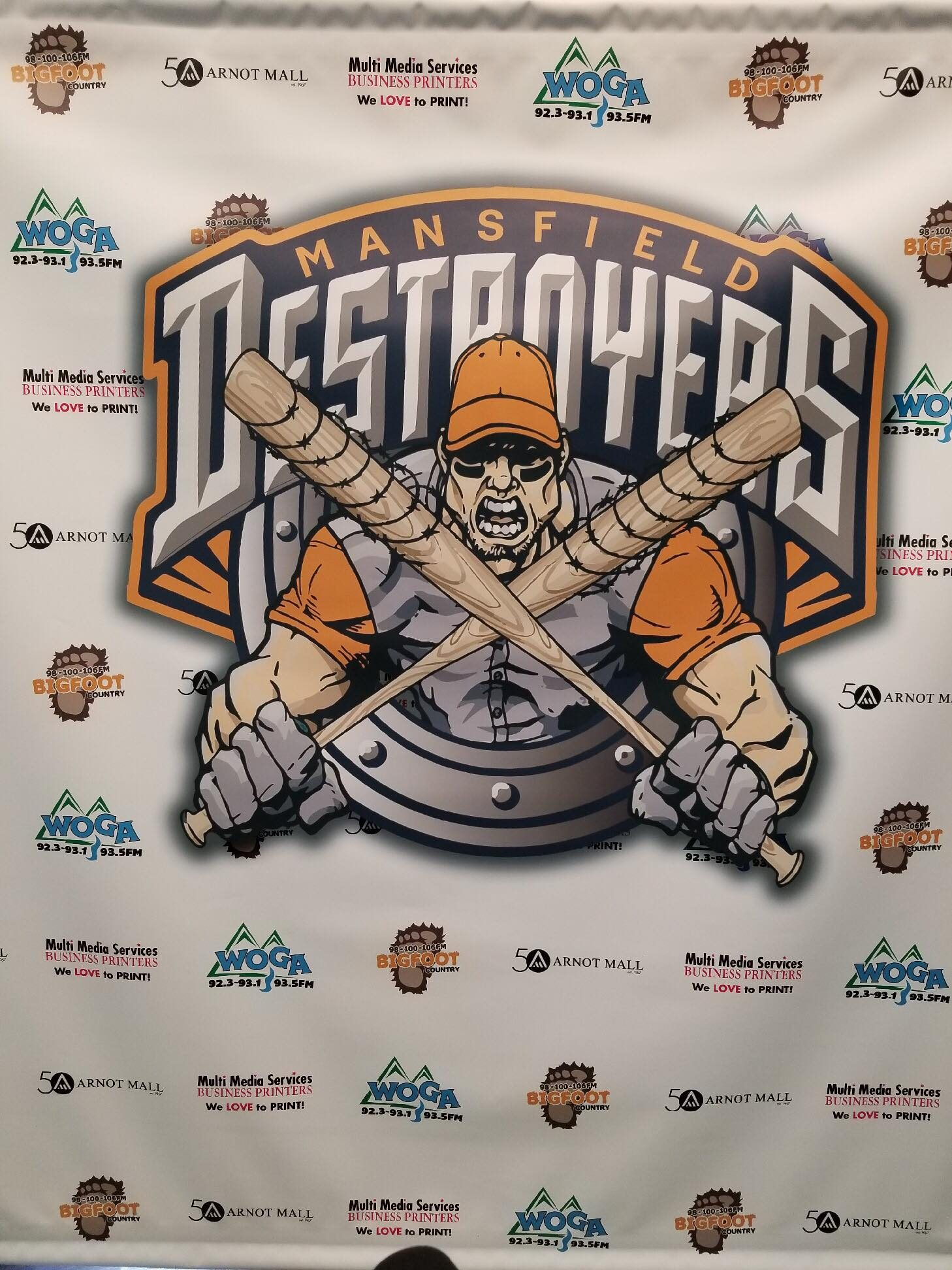 Announcing the Mansfield Destroyers Baseball Team!!