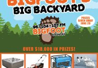 Bigfoot's Big Backyard!!