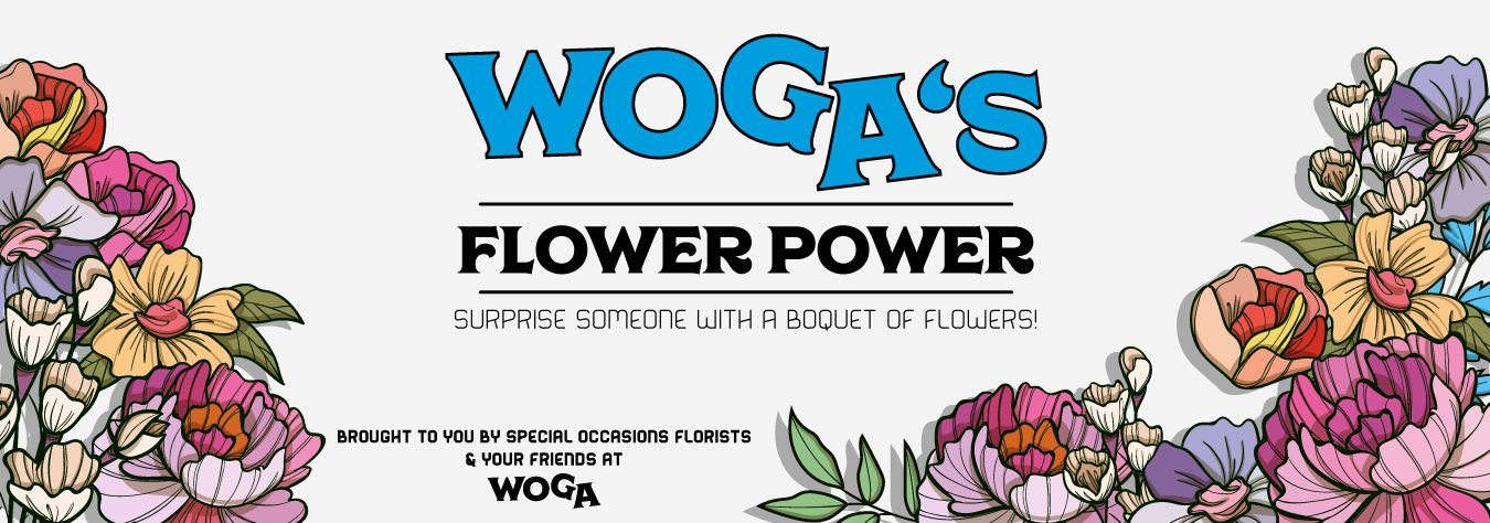 Surprise a Co-Worker with Flowers! With WOGA's Flower Power Giveaway!