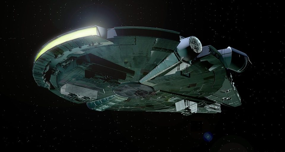 'Star Wars' Fans Spot Hidden Millennium Falcon on Google Earth!