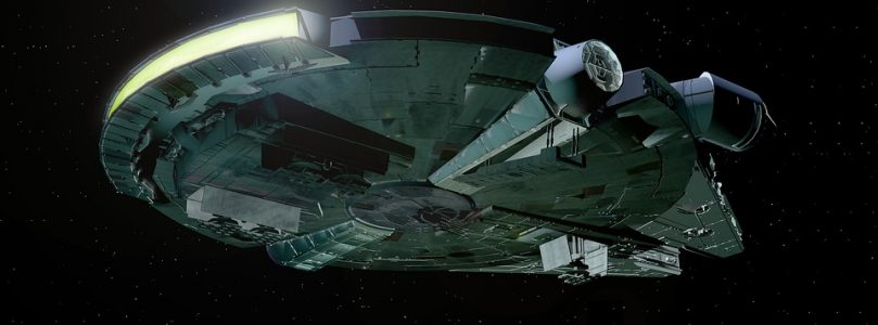 'Star Wars' Fans Spot Hidden Millennium Falcon on Google Earth!