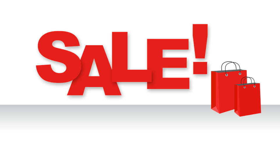 WOGA's ONE-HALF OFF SALE RETURNS!!