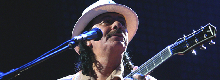 For the first time in decades, Santana has a top 5 album