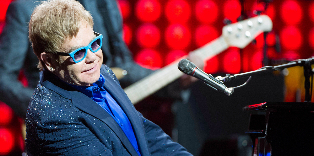 Elton John Named the greatest male solo ever