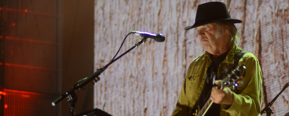 Neil Young is releasing a new album!
