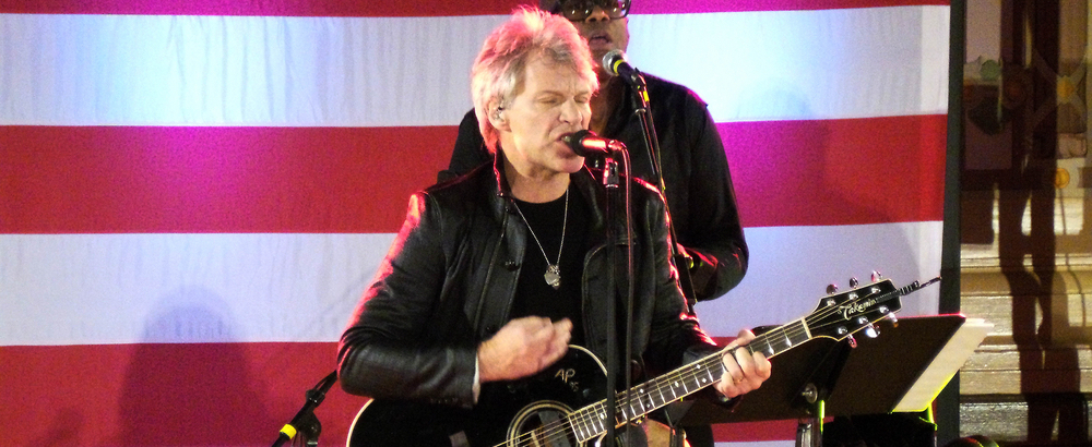 Bon Jovi hosts virtual charity event to fight hunger and poverty