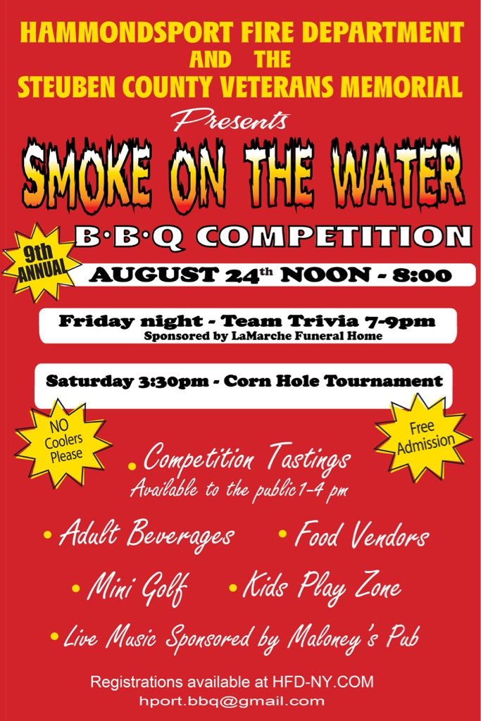 Smoke on the Water BBQ Competition