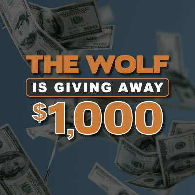 1K Giveaway