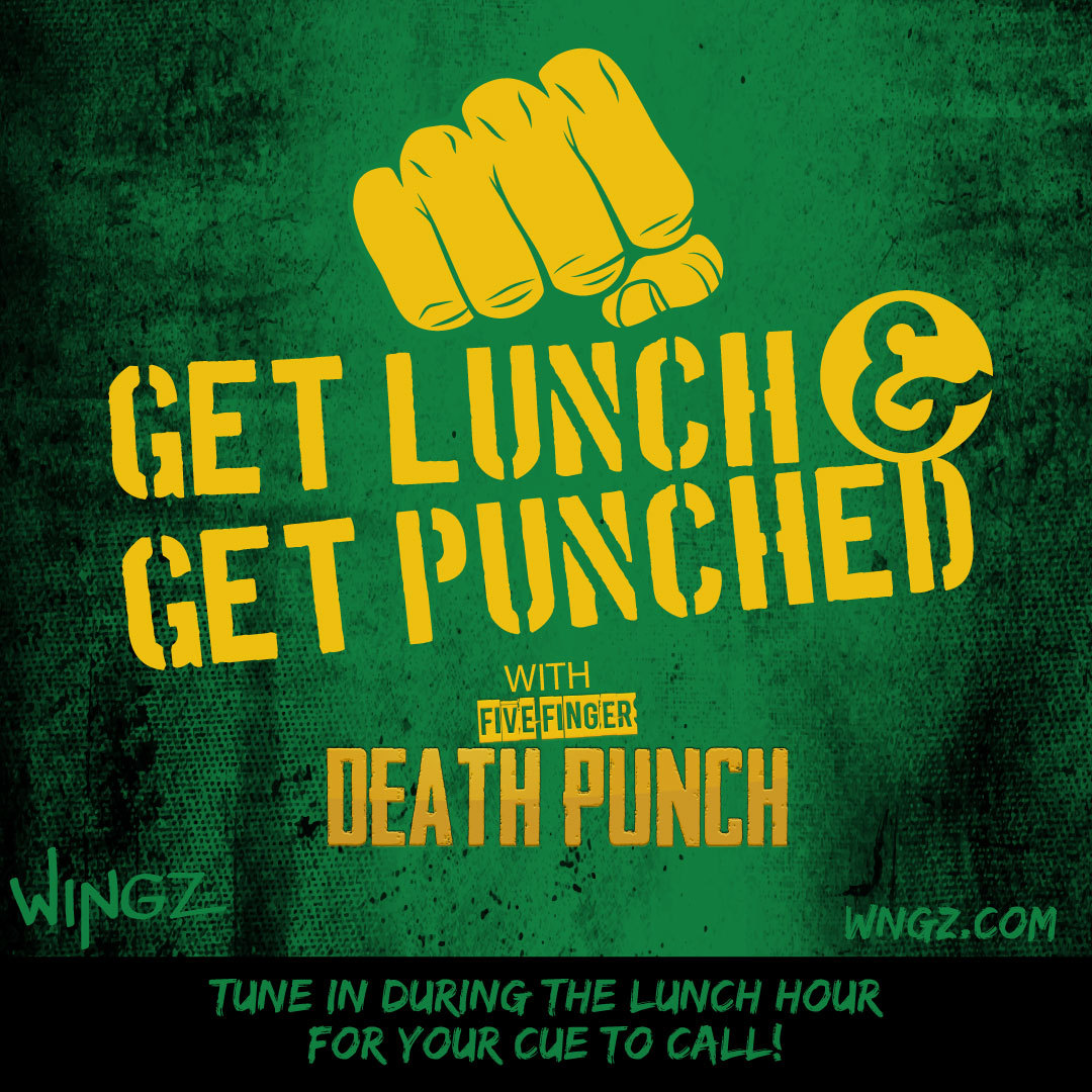GET LUNCH, GET PUNCHED