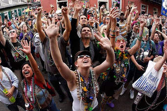 Mardi Gras! Beads? What would we throw in Bigfoot Country?