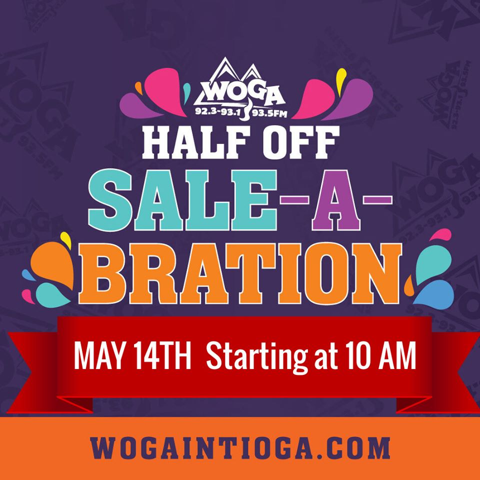 WOGA's Half Off Sale is this Saturday!