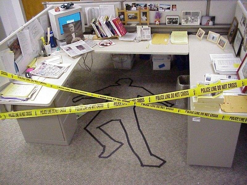 """Clever Concept To Combat Cubicle Crime"""