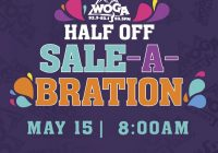 WOGA's HALF OFF SALE IS BACK! FRIDAY, MAY 14TH!